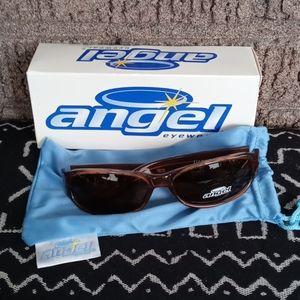 Angel Eyewear Firestar Brown Sunglasses